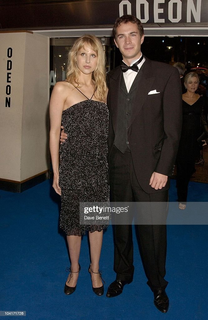 James D'Arcy And Girlfriend, 'Master And Commander: The Far Side Of The World' Royal Premiere At The Odeon Leicester Square, London