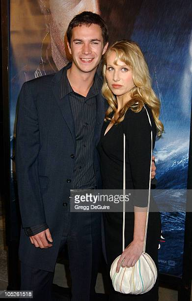 James D'Arcy and Lucy Punch during 'Master Commander The Far Side of the World' Los Angeles Premiere at Academy Theatre in Beverly Hills California...