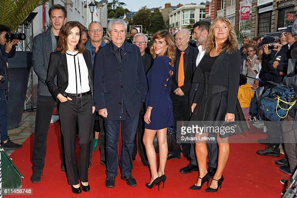 James D'Arcy Anne Parillaud Eric Lagesse Claude Lelouch Phil Davis Victoria Bedos Colin Vaines Jalil Lespert Julie Ferrier attend opening ceremony of...