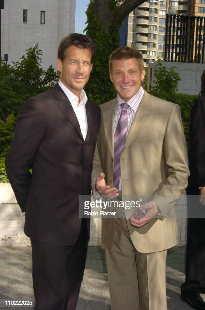 James Denton and Doug Savant during 2005/2006 ABC UpFront at Lincoln Center in New York City New York United States