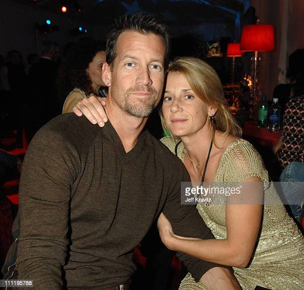 James Denton and Erin O'Brien during HBO AEG Live's 'The Comedy Festival' Comic Relief 2006 After Party at Caesars Palace in Las Vegas Nevada United...
