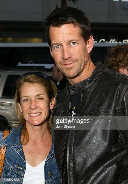 James Denton and his wife Erin O'Brien Denton