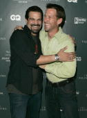 James Denton and Ricardo Chavira during Valentino and GQ Host a Live Performance By John Legend at The Museum of Television and Radio in Beverly...