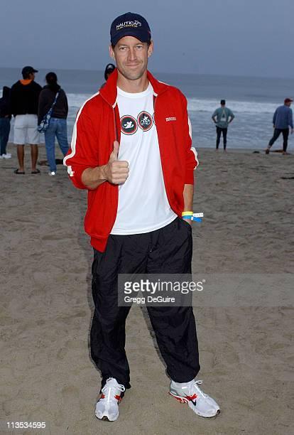 James Denton during 19th Annual Nautica Malibu Triathlon Arrivals at Zuma Beach in Malibu California United States