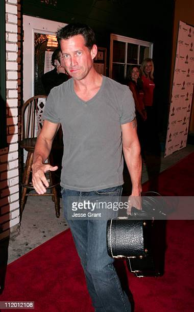 James Denton during Bronson Arroyo's 'Covering the Bases' Album Release Party at Sonny McLean's in Santa Monica California United States