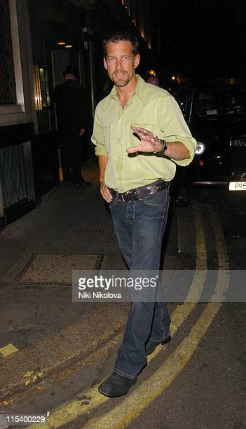 James Denton during James Denton Sighting at The Ivy Restaurant in London June 22 2005 at The Ivy Restaurant in London Great Britain