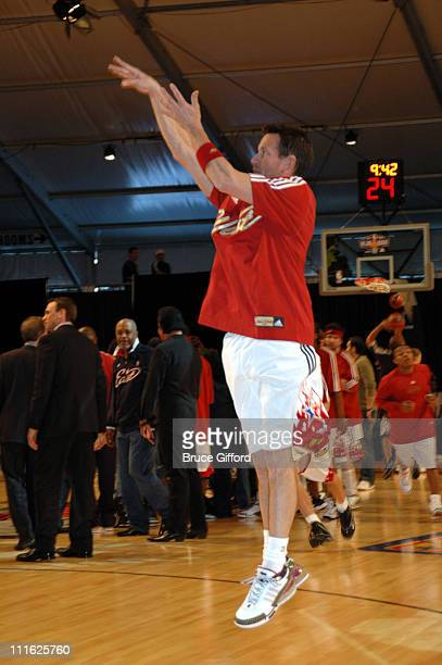 James Denton during NBA AllStar Celebrity Game February 16 2007 at Mandalay Bay Hotel and Casino in Las Vegas Nevada United States