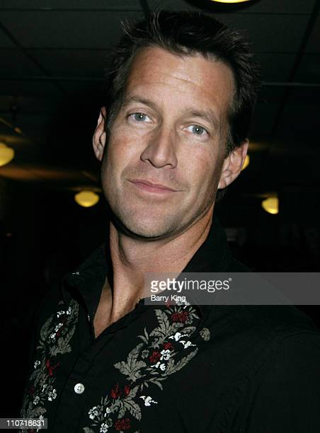 James Denton during The Trevor Project's Cracked Xmas 8 Green Room at The Wiltern in Hollywood California United States
