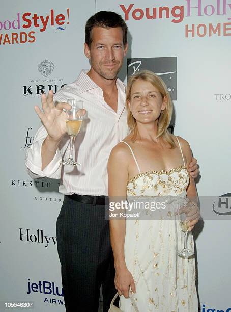 James Denton wife Erin O'Brien during Movieline Hollywood Life's Hollywood Style Awards Arrivals at Pacific Design Center in West Hollywood...