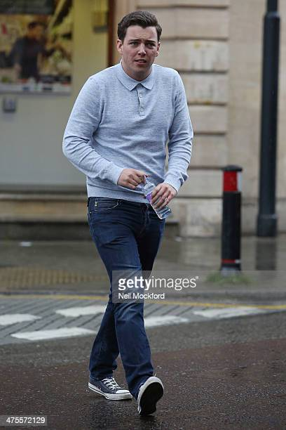 James 'Diags' seen filming TOWIE in South Woodford on February 28 2014 in London England