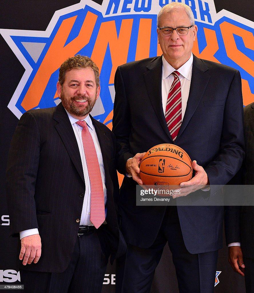 New York Knicks Announce Phil Jackson As Team President