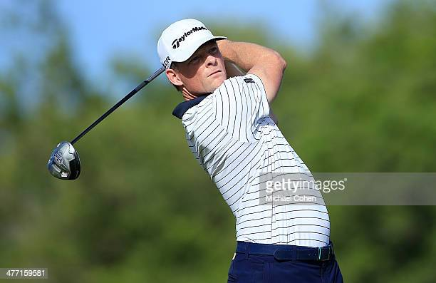 James Driscoll hits a drive during the second round of the Puerto Rico Open presented by seepuertoricocom held at Trump International Golf Club on...