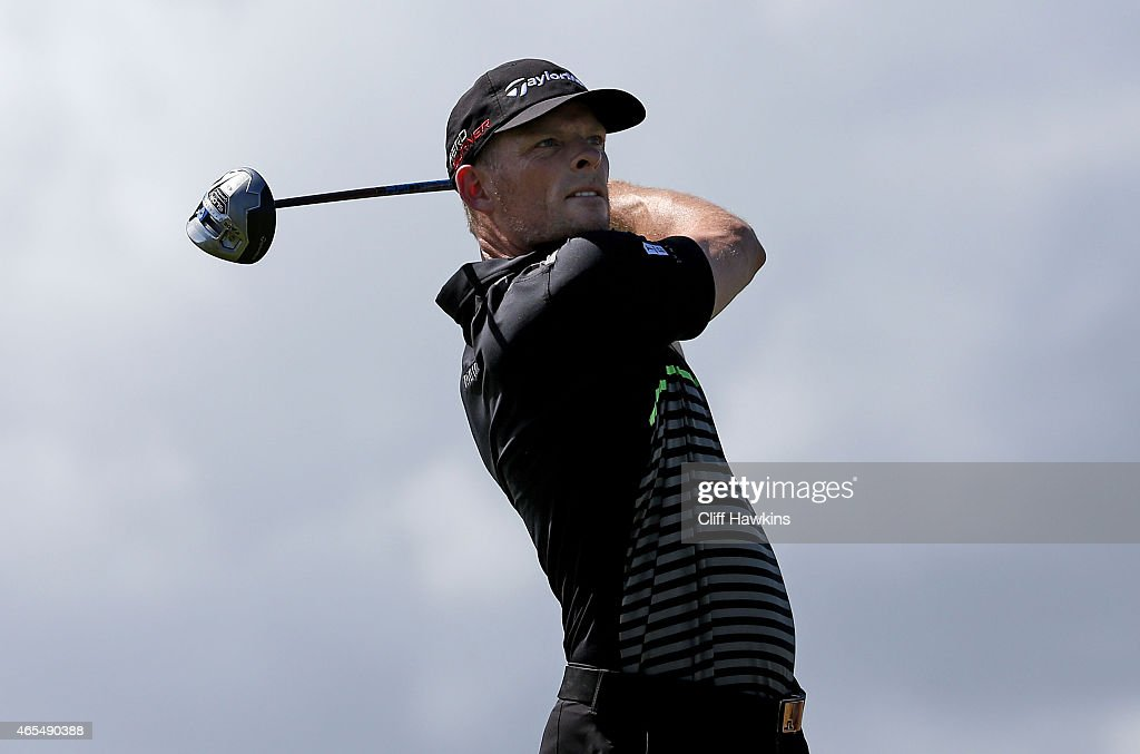 James Driscoll plays his shot from the ninth tee during round three of the Puerto Rico Open presented by Banco Popular on March 7, 2015 in Rio Grande, Puerto Rico.