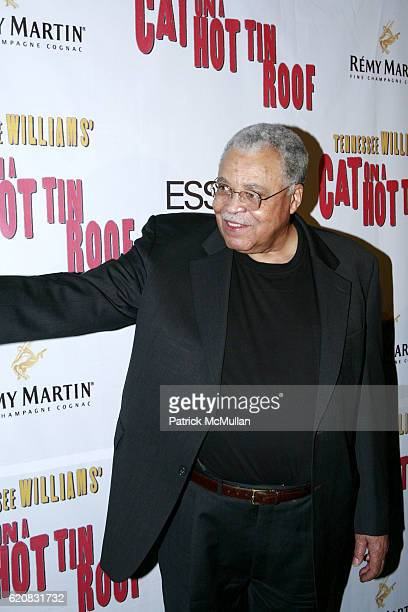 James Earl Jones attends Broadway Premiere of Cat On A Hot Tin Roof at Broadhurst Theater on March 6 2008 in New York City