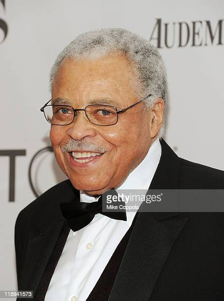 James Earl Jones attends the 65th Annual Tony Awards at the Beacon Theatre on June 12 2011 in New York City