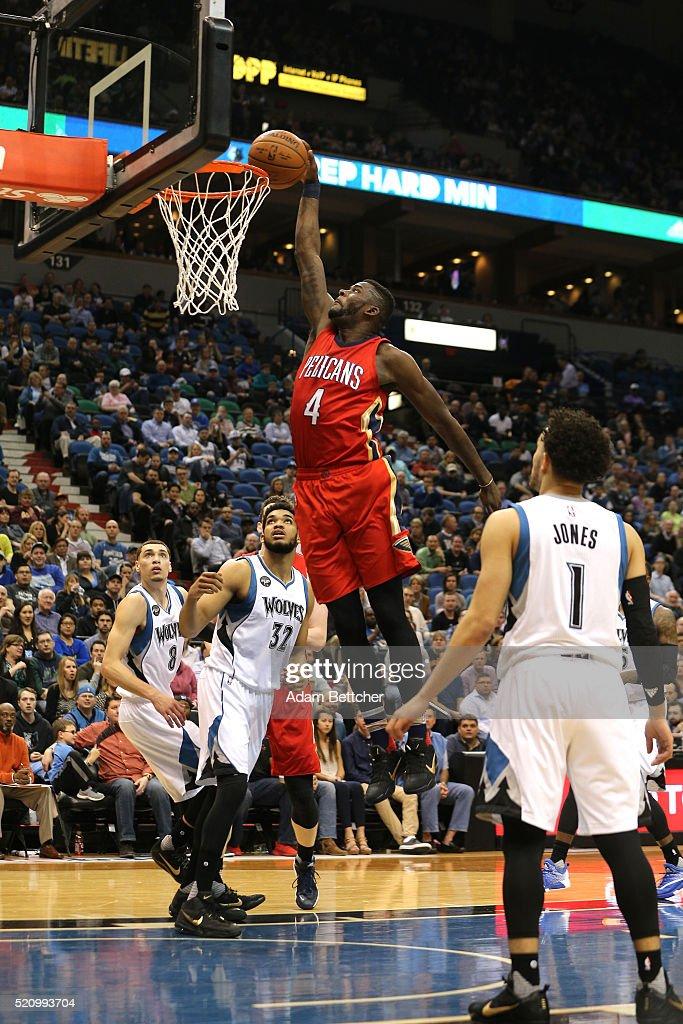 New Orleans Pelicans v Minnesota Timberwolves