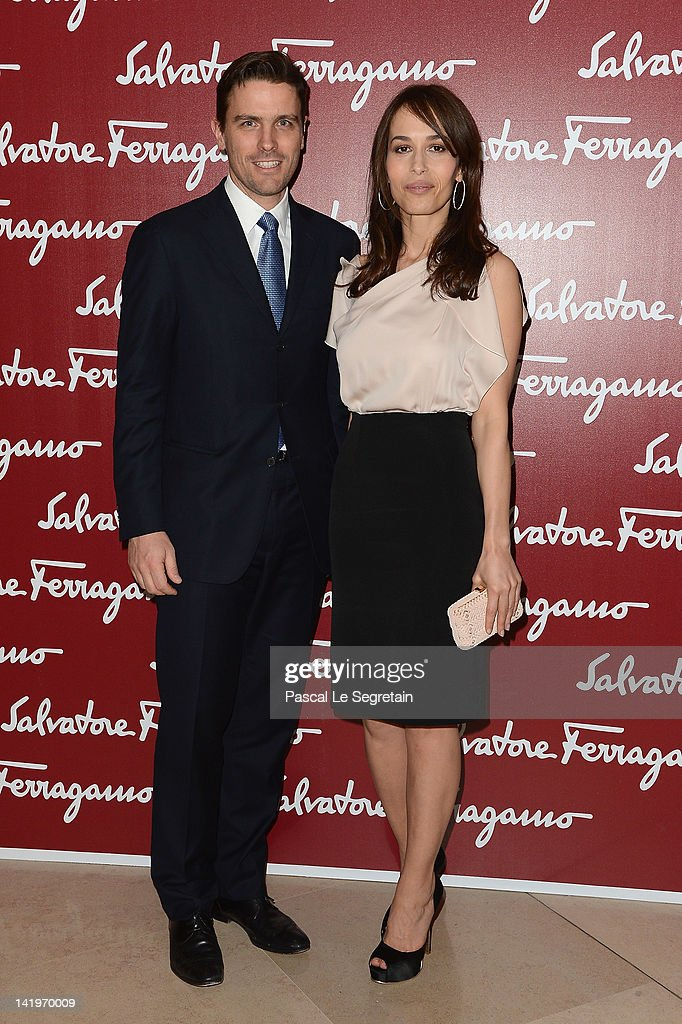 James Ferragamo and Dolores Chaplin attend Leonardo Da Vinci's Latest Exhibition 'The Saint Anne' Leonardo Da Vinci's Ultimate Masterpiece at Musee...