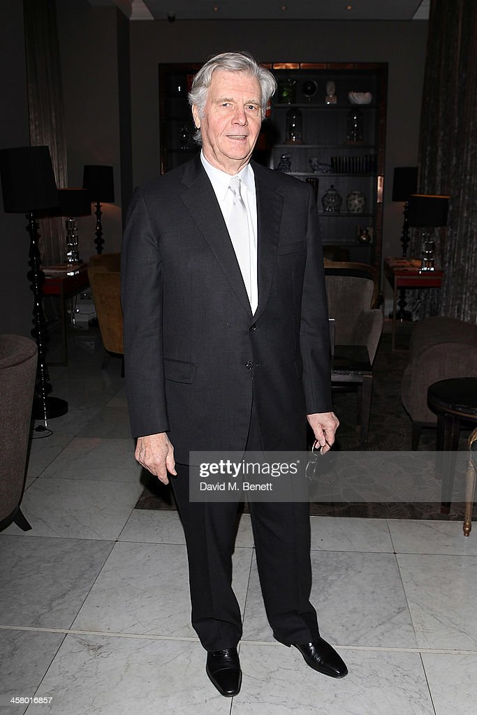 James Fox attends the afterparty for Andrew Lloyd Webber's new musical 'Stephan Ward' at The Waldorf Hilton Hotel on December 19, 2013 in London, England.