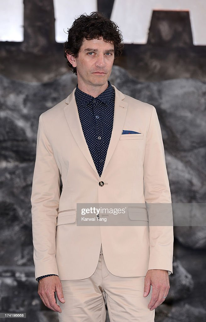 James Frain attends the UK Premiere of 'The Lone Ranger' at Odeon Leicester Square on July 21, 2013 in London, England.