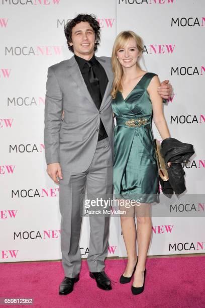 James Franco and Ahna O'Reilly attend MOCA NEW 30th Anniversary Gala at MOCA on November 14 2009 in Los Angeles California
