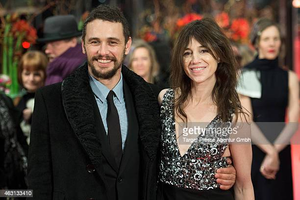 James Franco and Charlotte Gainsbourg attend the 'Every Thing Will Be Fine' premiere during the 65th Berlinale International Film Festival at...