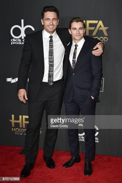 James Franco and Dave Franco attend the 21st Annual Hollywood Film Awards Arrivals on November 5 2017 in Beverly Hills California
