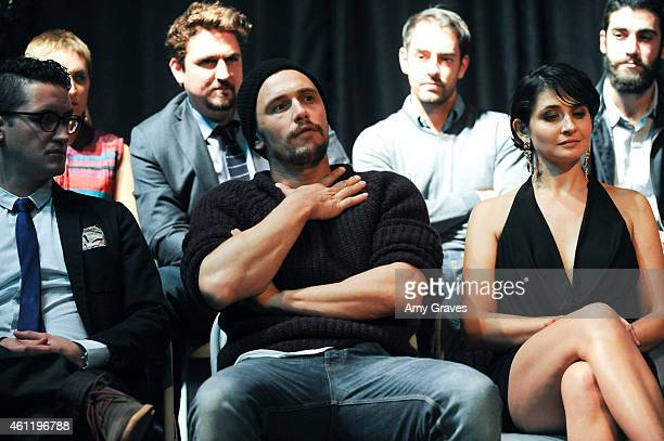 James Franco and Vera Cherny attend the workshop following the World Premiere of 'Don Quixote The Ingenious Gentleman of La Mancha' during the 26th...