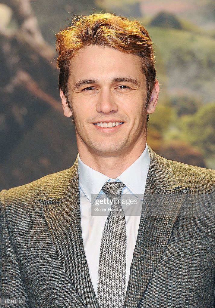 James Franco arrives for the 'Oz: The Great And Powerful' European premiere at the Empire Leicester Square on February 28, 2013 in London, England.