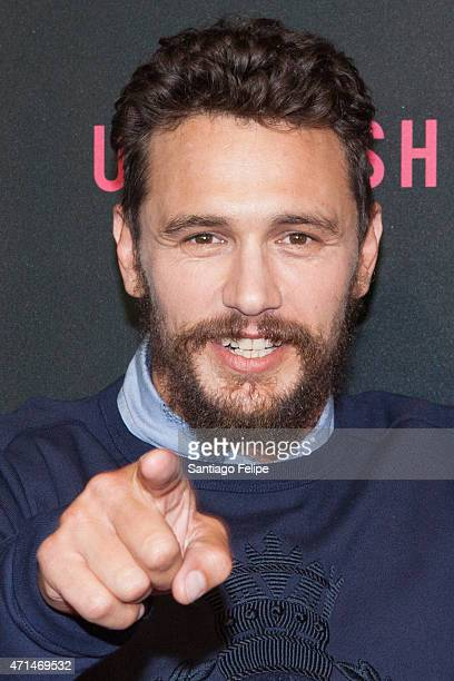 James Franco at AOL Newfronts 2015 at 4 World Trade Center on April 28 2015 in New York City