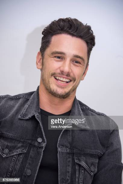 James Franco at 'The Disaster Artist' Press Conference at the Four Seasons Hotel on November 18 2017 in Beverly Hills California