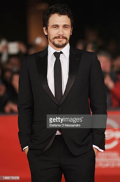 James Franco attends 'Dream Tar' Premiere during The 7th Rome Film Festival on November 16 2012 in Rome Italy
