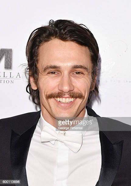James Franco attends the 2016 Toronto International Film Festival 'AMBI Gala' at Ritz Carlton on September 7 2016 in Toronto Canada