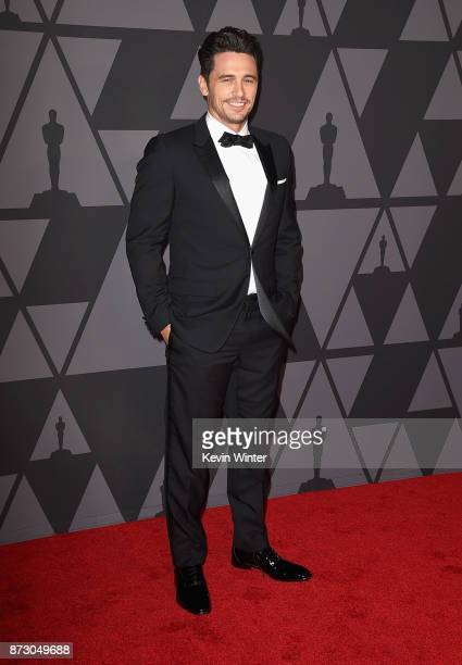James Franco attends the Academy of Motion Picture Arts and Sciences' 9th Annual Governors Awards at The Ray Dolby Ballroom at Hollywood Highland...
