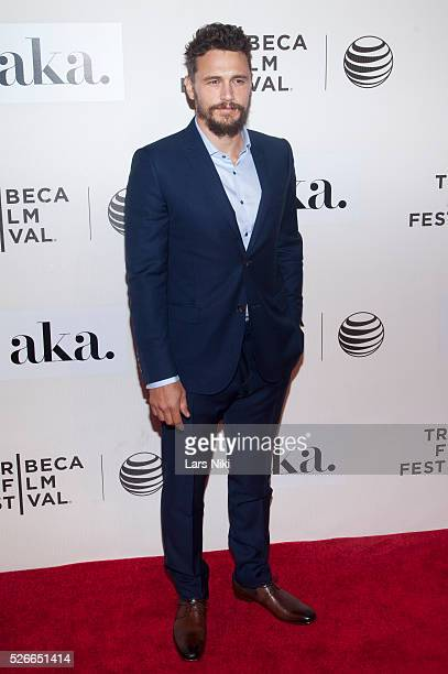 James Franco attends 'The Adderall Diaries' premiere during the 2015 Tribeca Film Festival at the BMCC in New York City �� LAN