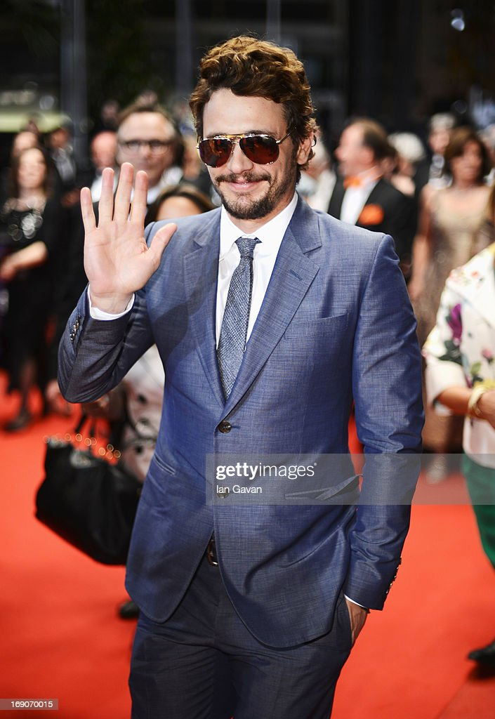 <a gi-track='captionPersonalityLinkClicked' href=/galleries/search?phrase=James+Franco&family=editorial&specificpeople=577480 ng-click='$event.stopPropagation()'>James Franco</a> attends the 'Borgman' Premiere during the 66th Annual Cannes Film Festival at the Palais des Festivals on May 19, 2013 in Cannes, France.