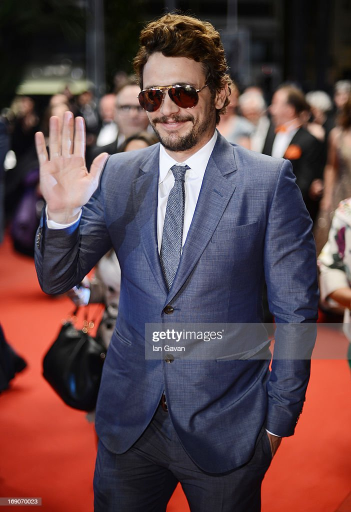 James Franco attends the 'Borgman' Premiere during the 66th Annual Cannes Film Festival at the Palais des Festivals on May 19, 2013 in Cannes, France.
