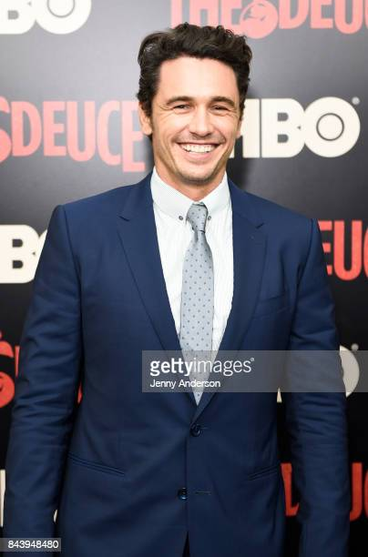 James Franco attends 'The Deuce' New York Premiere at SVA Theater on September 7 2017 in New York City