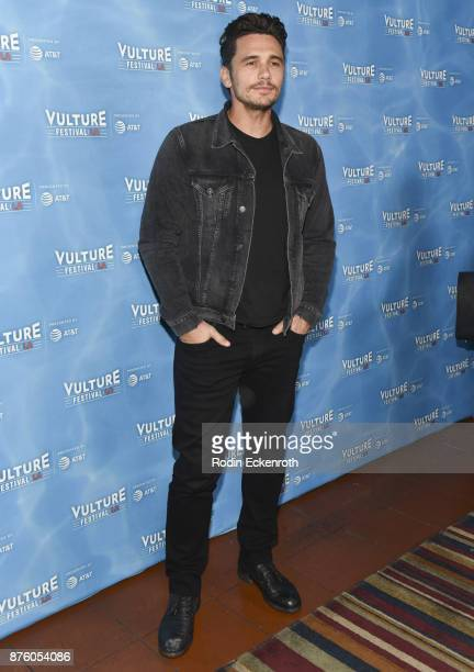 James Franco attends 'The Disaster Artist' panel at Vulture Festival Los Angeles at Hollywood Roosevelt Hotel on November 18 2017 in Hollywood...