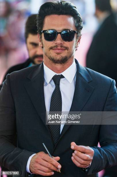 James Franco attends 'The Disaster Artist' premiere during 65th San Sebastian Film Festival on September 28 2017 in San Sebastian Spain