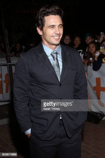 James Franco attends 'The Disaster Artist' premiere during the 2017 Toronto International Film Festival at Ryerson Theatre on September 11 2017 in...