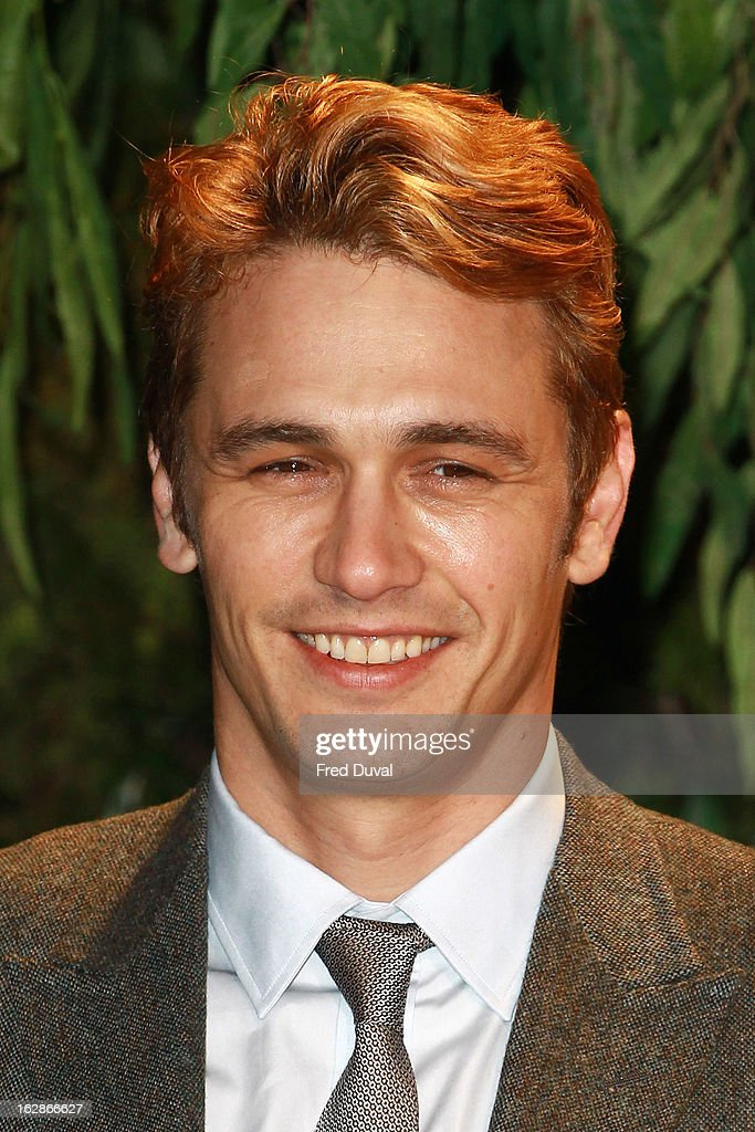 James Franco attends the European Film Premiere of 'Oz: The Great And Powerful' at The Empire Cinema on February 28, 2013 in London, England.