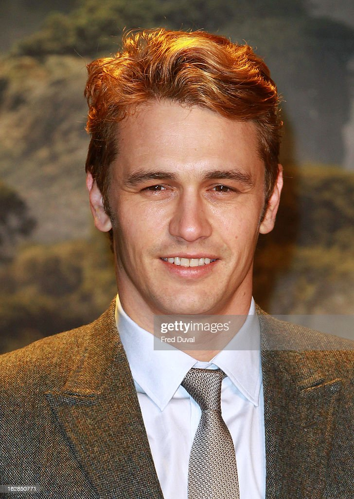James Franco attends the European Premiere of 'Oz: The Great And Powerful' at The Empire Cinema on February 28, 2013 in London, England.