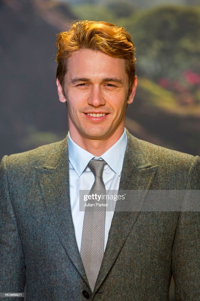James Franco attends the European Premiere of 'Oz: The Great and Powerful' at the Empire Leicester Square on February 28, 2013 in London, England.