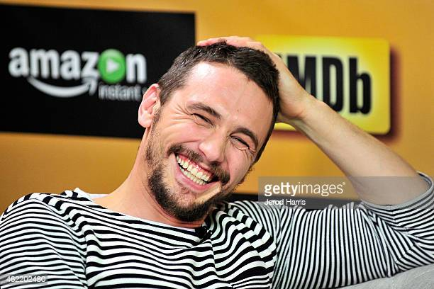 James Franco attends the IMDb Amazon Instant Video Studio at the village at the lift on January 25 2015 in Park City Utah