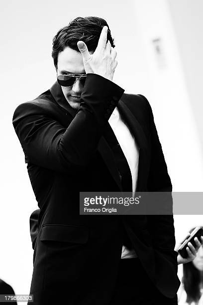 James Franco attends the 'Palo Alto' Premiere during the 70th Venice International Film Festival at the Sala Grande on September 1 2013 in Venice...