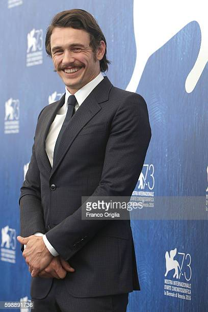 James Franco attends the photocall of 'In Dubious Battle' during the 73rd Venice Film Festival at Palazzo del Casino on September 3 2016 in Venice...