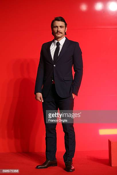 James Franco attends the premiere of 'In Dubious Battle' during the 73rd Venice Film Festival at Sala Giardino on September 3 2016 in Venice Italy