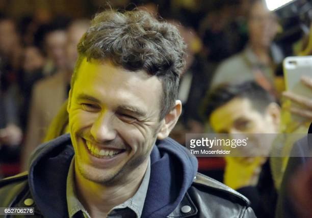 James Franco attends the premiere of 'The Disaster Artist' during the 2017 SXSW Conference And Festivals at the Paramount Theater on March 12 2017 in...