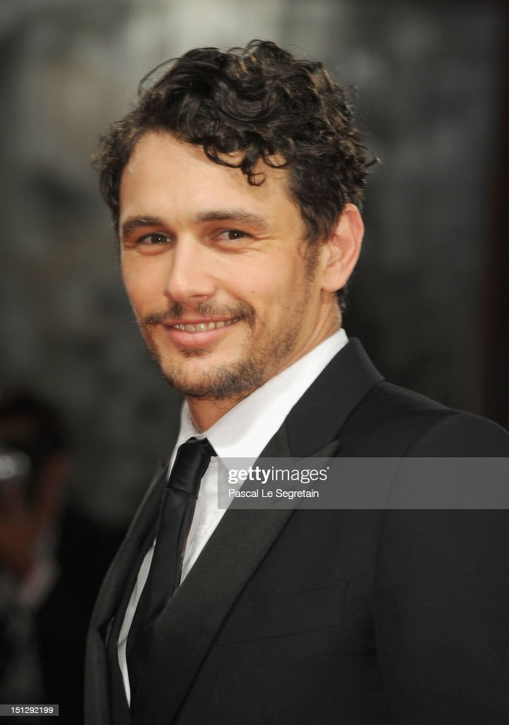 James Franco attends the 'Spring Breakers' Premiere during The 69th Venice Film Festival at the Palazzo del Cinema on September 5, 2012 in Venice, Italy.
