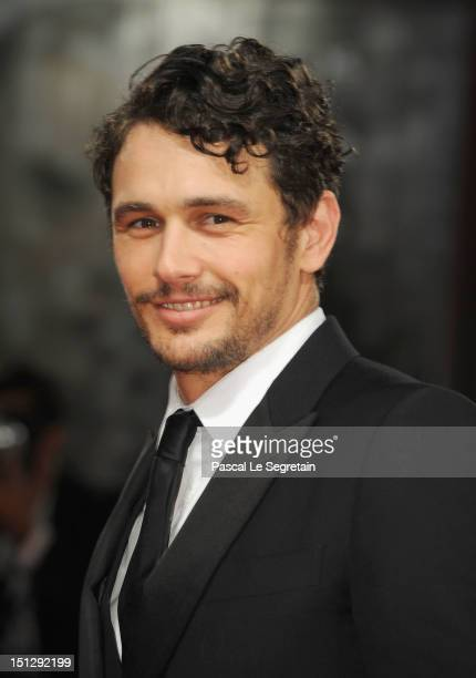 James Franco attends the 'Spring Breakers' Premiere during The 69th Venice Film Festival at the Palazzo del Cinema on September 5 2012 in Venice Italy